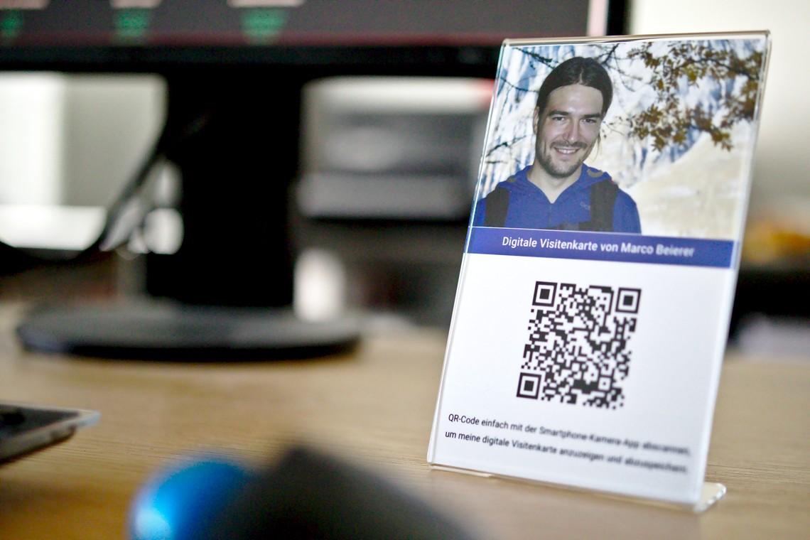 Digitale Visitenkarte Für Unternehmen Marco Beierer